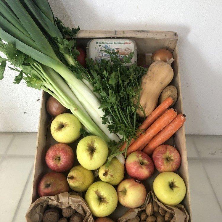 panier saison fruits et légumes